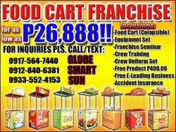 best foodcart franchise