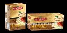 "Brooklyn Fruit & Herb' "" Ginger with Organic Green Tea"" Ginger Natural HerbTea"