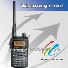 Mini two way radio handheld wireless interphone with fm radio