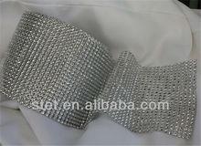elegant diamond wrap wedding decoration items