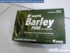 SANTE BARLEY PURE IS 100% YOUNG LEAF BARLEY GRASS POWDER IN VEGETABLE CAPSULES. IT IS RICH IN VITAMINS, ENZYMES AND MINERALS. IT