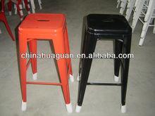 2014 hot selling metal stackable bar stool