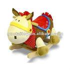 super cute horse baby stuffed plush animal singing/musical sound rocking horse~wonderful gift for kids