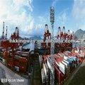 De los productos básicos a puerta del mar servicio de envío de china a camerún, el chad