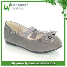 Tamaño 20-25 nuevo diseño niños zapatos planos, los niños zapatos de tamaño, zapatos de payless