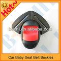 sıcak satışı yüksek kaliteli üniversal Emniyet kemeri tokası bebek araba