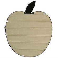 apple shaped crystal acrylic nail polish organizer