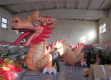popular Chinese dragon inflatable cartoon mascot