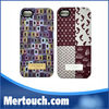 Creative design for iphone 5 case IMD printing cell phone case for new apple iphone