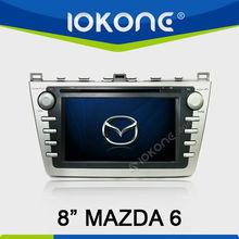 """8"""" in dash 2din car audio ngps navi for mazda6"""