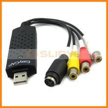 USB 2.0 Easy CAP DC60 TV DVD VHS Video capture Audio AV Capture