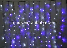 2x3M 600L decorative curtain string lights of Blue color