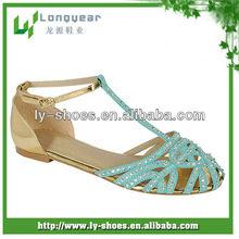 2013 hot design Children's footwear manufacturer,kids sandals with rhinestonein kids sandals