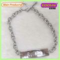 De moda de la aleación de metal 2013 etiquetas de plata pulseras para los hombres #3424