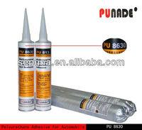 polyurethane pu car body glass repair adhesive & sealant