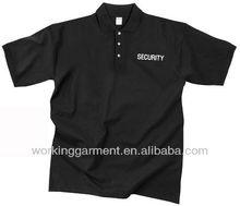 basic black men polp T-shirts / men work polo shirts