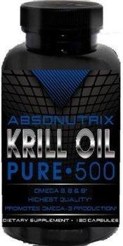 Absonutrix Krill Oil Pure 120 SoftGels - 500 mg Each