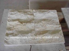 Nimbus Cream Split Face Marble: Marble Exterior Wall Cladding Stone