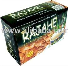 Indonesia Rajahe Box Sachet Halal and 100% Natural Refresh Body Spicy Taste Honeyed Cold Season Instant Honey Ginger Tea