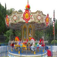 Children Games Amusement Park Rides Carousel Whirligig