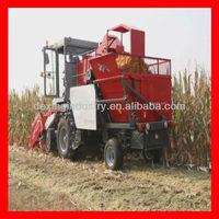 4YZ-3 Self-propelled Corn combine Harvester with Peeling