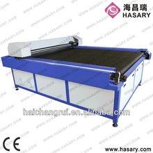 2013 Made in china rápido transpotation rendimiento perfecto co2 máquina de corte para hilado de algodón de la máquina