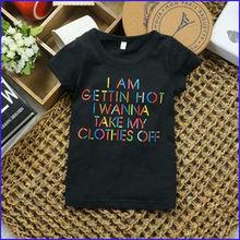 120g kids 100% organic cotton boy t-shirts