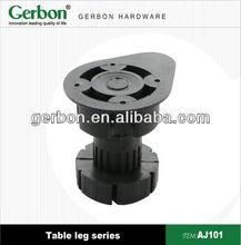 Adjustable table leg insert