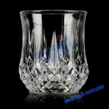 Hot Selling! Flashing Light Cheap LED Glass