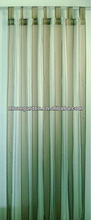 2013new/latest style cheap polyester/polyamid nylon yarn dyed DTY stripe plain ready made sheer woven window curtains and drapes