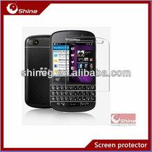 Anti-glare screen guard/screen shield/screen ward for Blackberry Q10 with manufacture price oem/odm