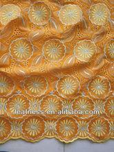 african sequins lace p2838 orange