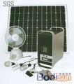 100w off- red de iluminación para el hogar sistema de energía solar