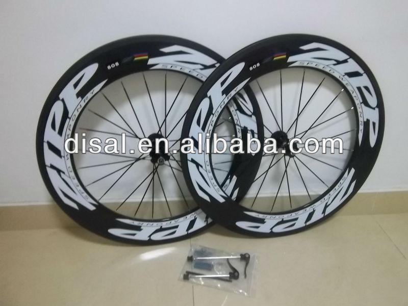 Wholesale! bicycles carbon wheels Zipp 808 & 50mm 100% carbon fiber zipp wheels & novate ...