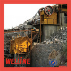 WELLINE jaw crusher run stone