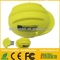 Customized 8gb funny usb flash drive helmet