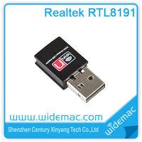 Realtek RTL8191su WiFi USB Adapter / 300Mbps Mini WiFi USB Adapter