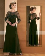 Bradn New Long Sleeves mother of bride, bridesmaid event dress