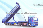 China manufacturer CTAC widely used Rear Dump Semi Trailer/Tipper Trailer with High Quality