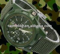 Fashion lovely high quality gemius army watch