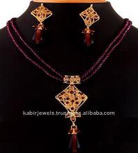 sterling indian trendy women fashion designer antique vintage bead jewelry