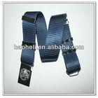 57mm wide military nylon belt,military webbing belt buckle