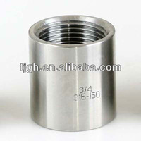 Stainless steel Coupling Forged High Pressure pipe fittings ANSI B16.11 etc