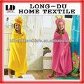 Niños pequeños 100% de algodón con capucha toallas de ventas al por mayor