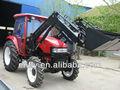 Universal trator 80hp 4wd com carregador frontal, tractor agrícola, tratores preço