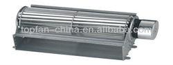 Diameter 65mm Motor DC Cross Flow Fan U For Heater/Cooler