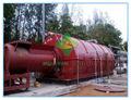 los derivados de petróleo crudo de los neumáticos de reciclaje de aceite de la máquina
