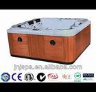 Brilliant series 5-6 person outdoor jacuzzi ,acrylic spa bath ,outdoor hot tub JNJ J-838