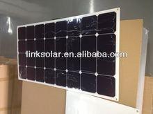 sunpower solar cells high efficiency 100w mono