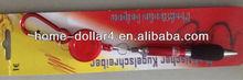 promotional plastic pen wiht key holder short ballpoint pen ballpoint pen